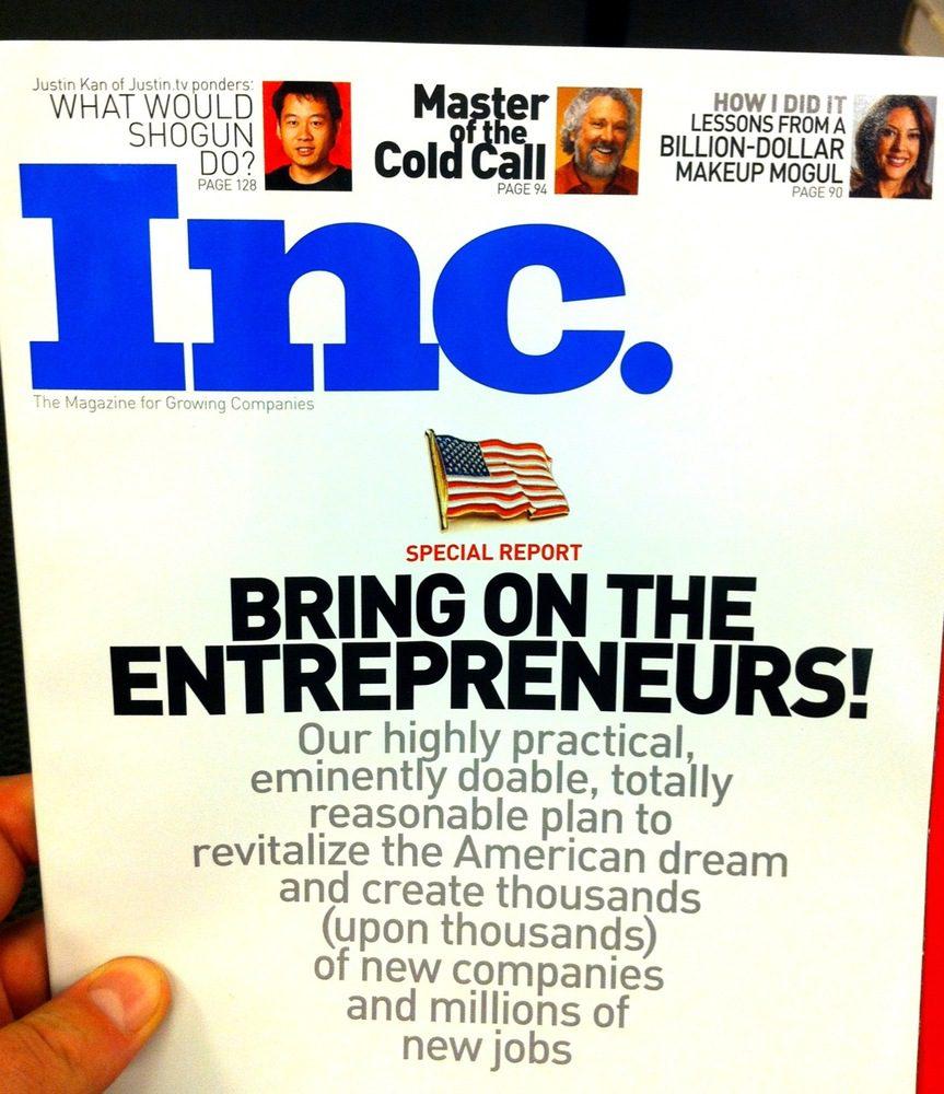Inc. Magazine on Entrepreneurship