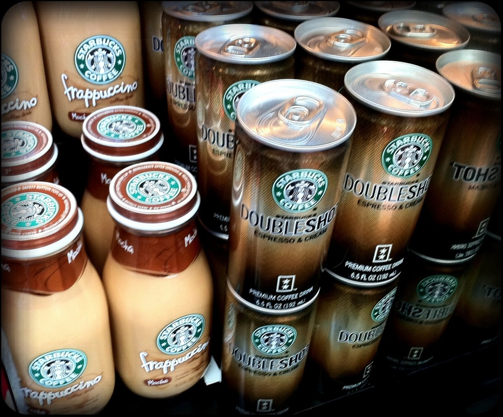 Somedays I feel like I could drink all of these! I wonder what would happen?