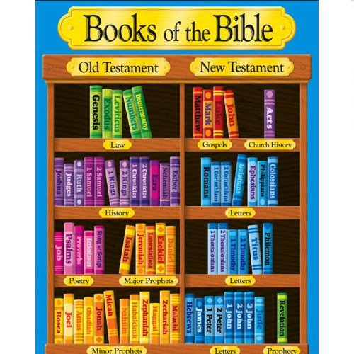 Books of the Bible Very Cool Org Chart