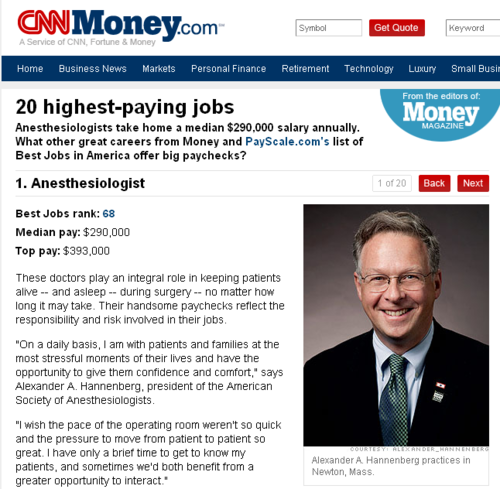 20 Highest Paying Jobs in America