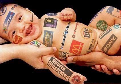 Advertising Gone Mad! Baby Sponsorships