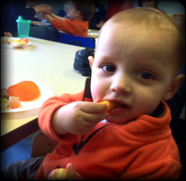 Daniel's Daycare Party – Ghosts and Cheetos