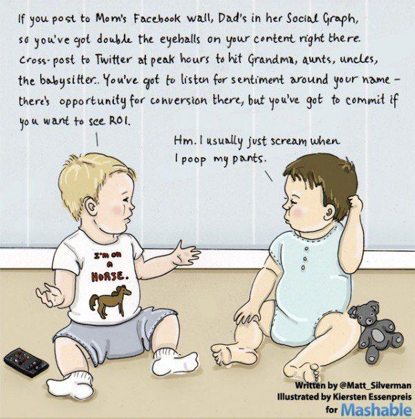 Funny! The Future of Social Media Parenting (cartoon)