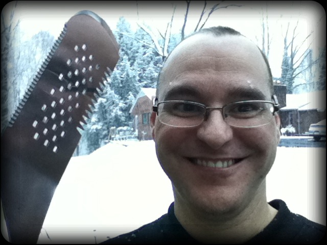 It's Snowing… And I'm Grilling :-> medium rare anyone?