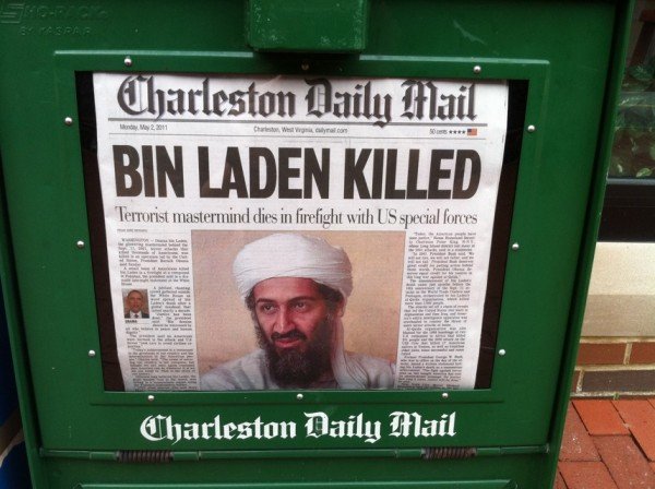 Historic Day: Bin Laden Killed