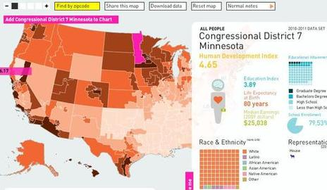 Interactive Health Map for America