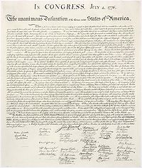 The Declaration of Independence (Must Read for July 4!)