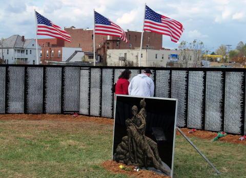 Tears Flow – Traveling Vietnam Memorial Wall Comes WV