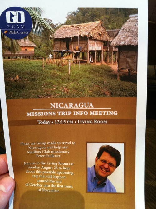 New Mission Trip Nicarargua Helping Young Schoolchildren