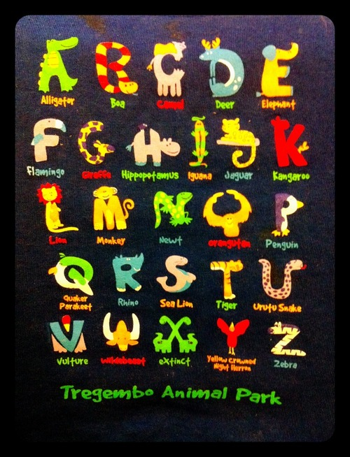 Animal ABC's Daniel's Favorite T-Shirt