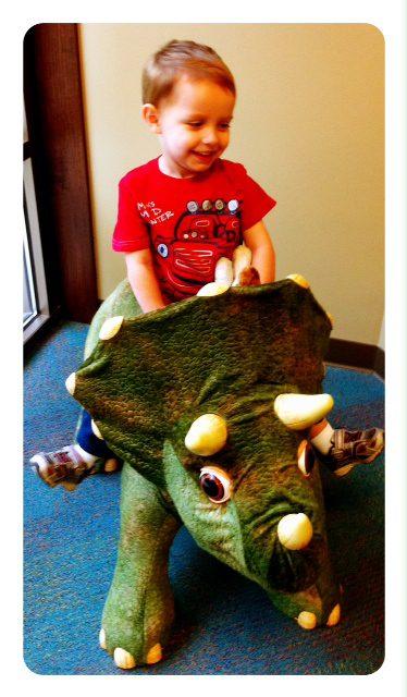 Daniel and his Dinosaur