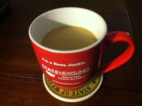 Monday Morning. How many cups have you had so far?