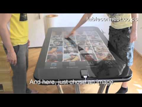 Supersize me!! 58-inch multitouch table runs on iPhone
