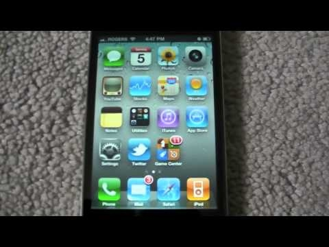 New iPhone iOS 4.1 Video Walkthrough of New Features