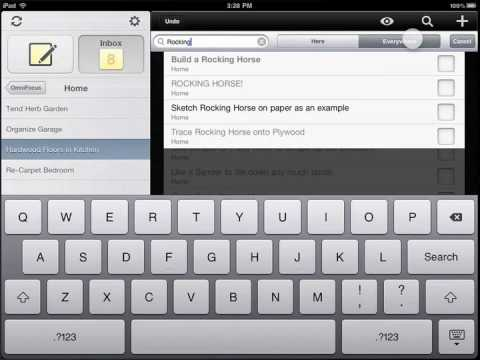 First look: OmniFocus for iPad