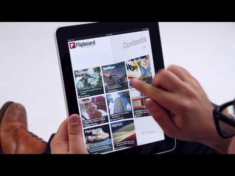Amazing! Meet Flipboard. Killer social app for the iPad!