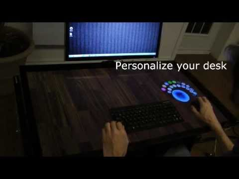 The Desk of the Future [video] Oh Yes!!