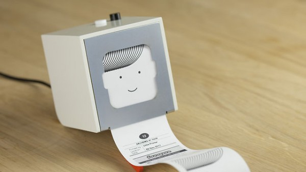 Hello Little Printer Available in 2012