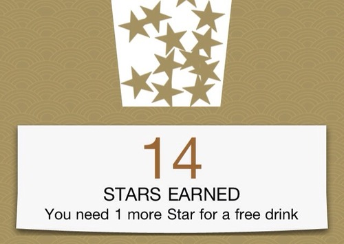 Tomorrow is my lucky day @starbucks