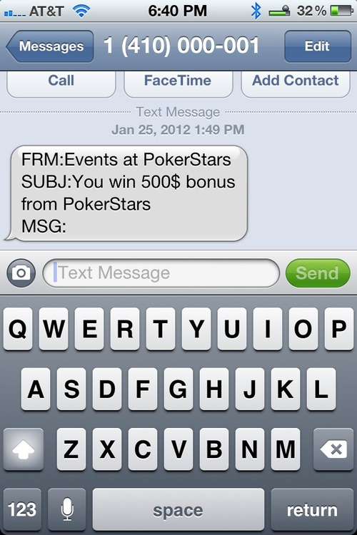 Text Spam? Really? Is it this the next big thing?
