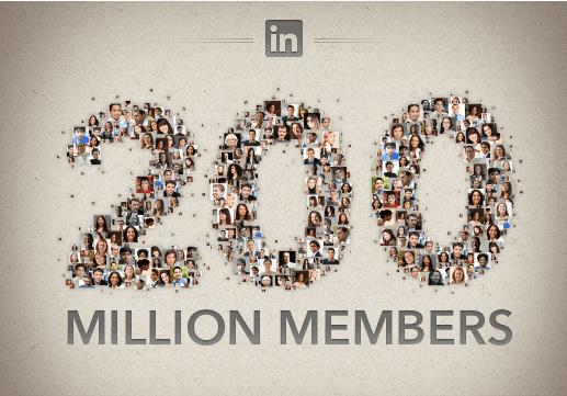 LinkedIn Blows Past 200 Million Members