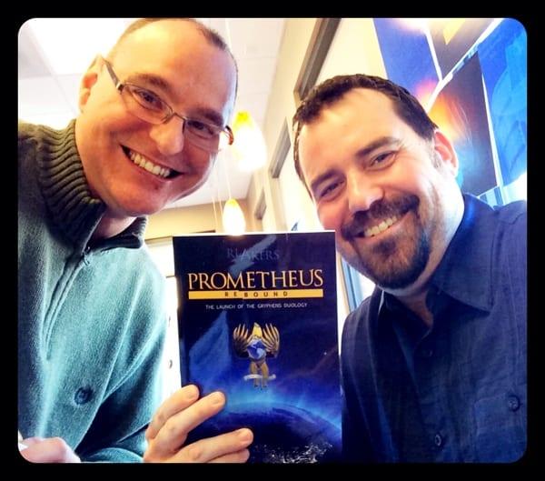 Book Launch Prometheus Rebound