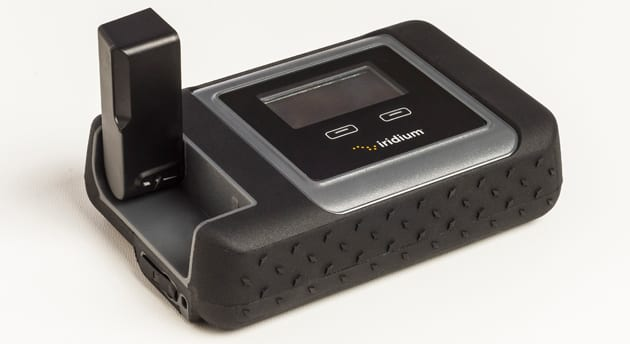 Tiny satellite hotspot will get you online anywhere on Earth!