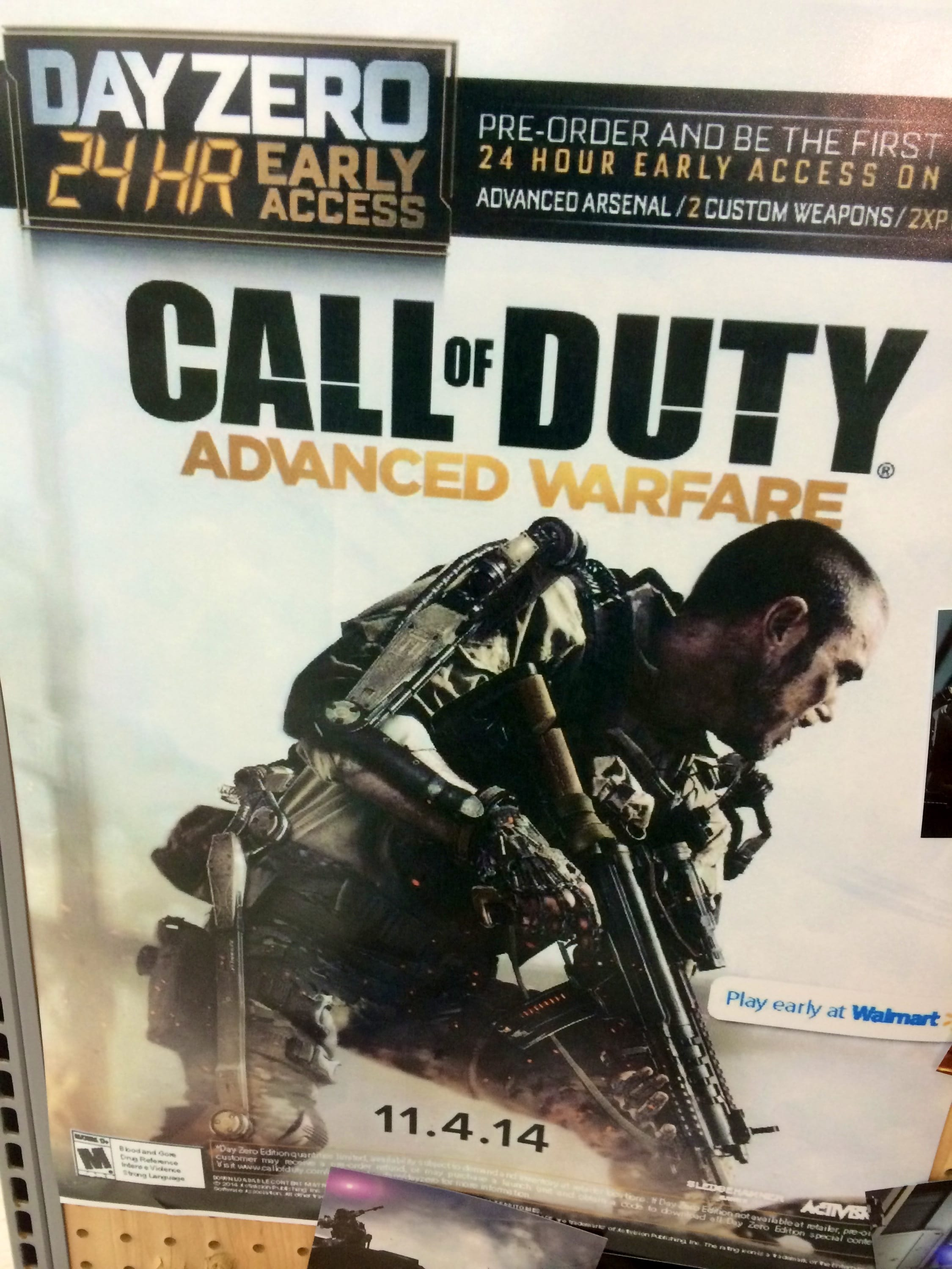 COD:AW just can't wait till November!