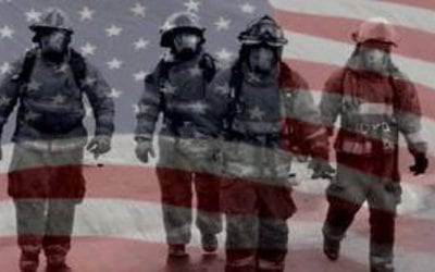 West Virginia Flags Lowered for Fallen Firefighters