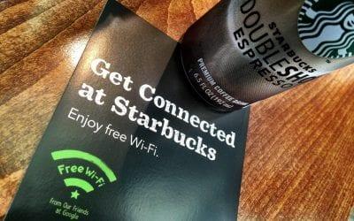Starbucks new Google Wifi
