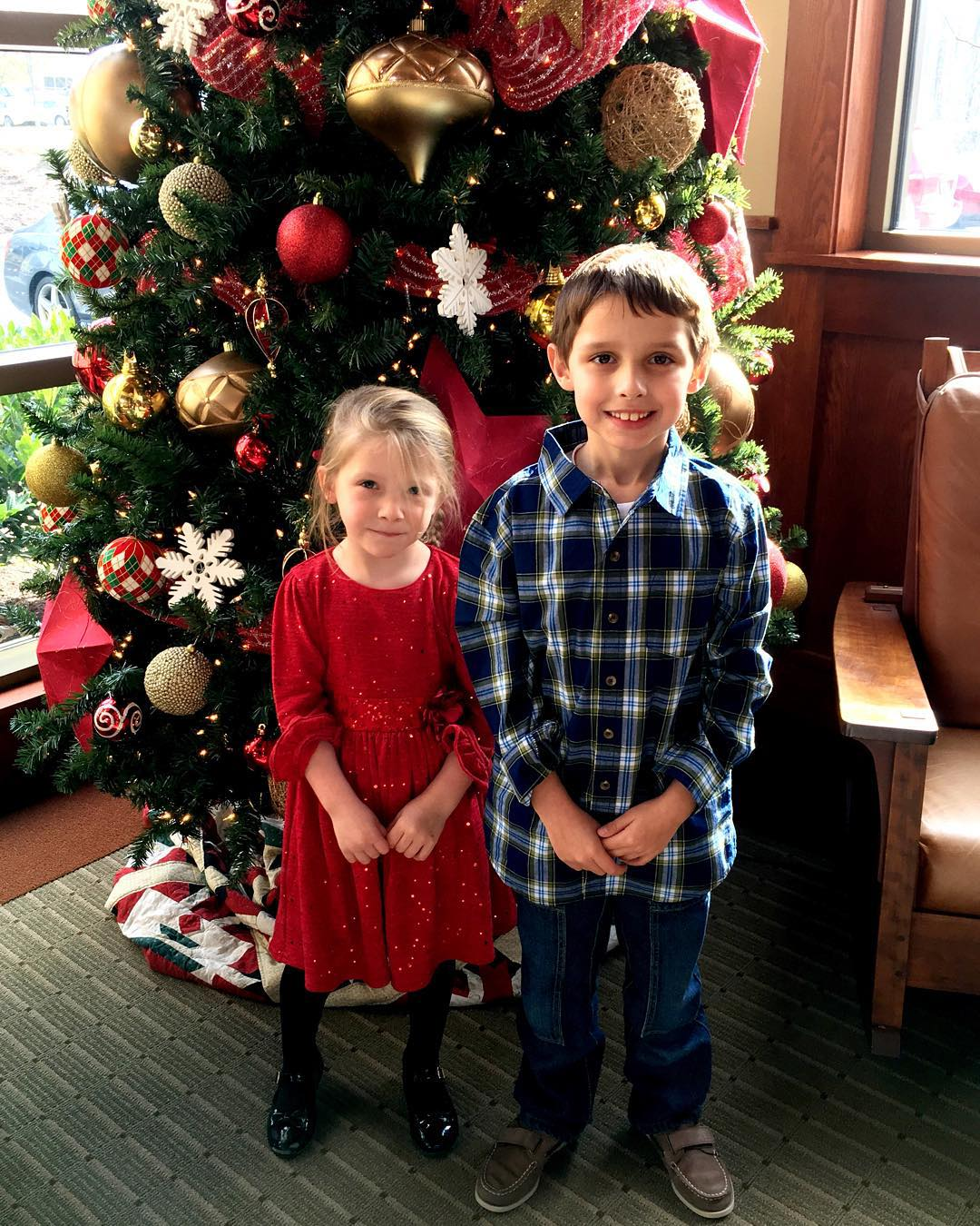 Christmas tree buddies