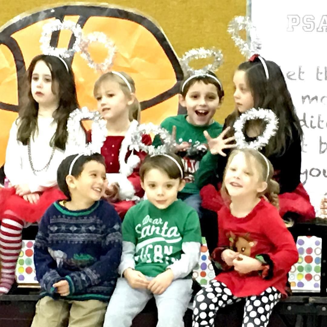 Daniel and Lily in their last Christmas drama skit