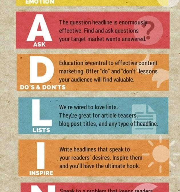 Your Handy Cheat Sheet for Writing Headlines