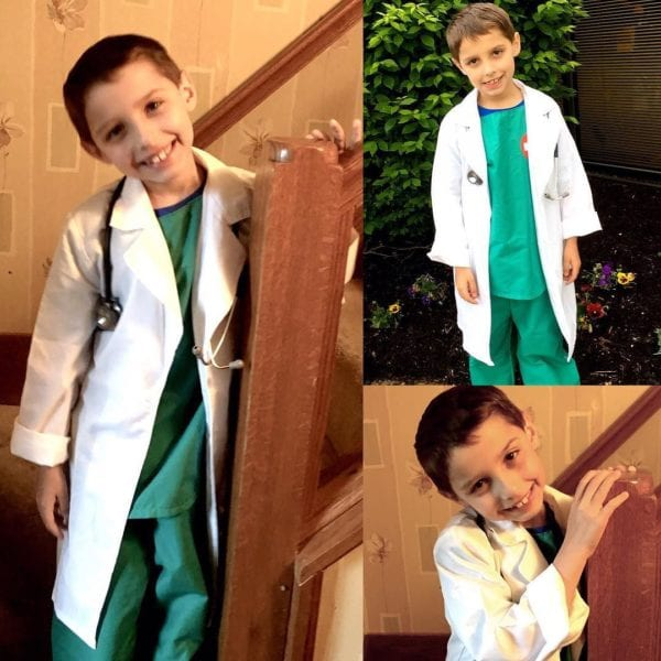 When I grow up day… Dr. Daniel in the house.
