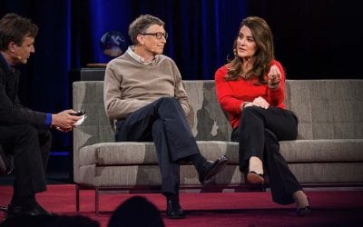 Why giving away our wealth has been the most satisfying thing we've done… | Bill and Melinda Gates
