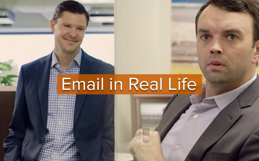 Funny: Email in Real Life