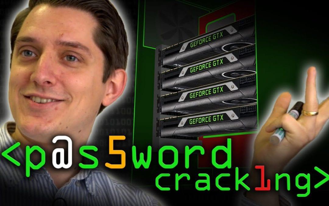Password cracking demo video