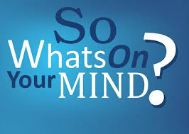 Day009 / What's on your mind?